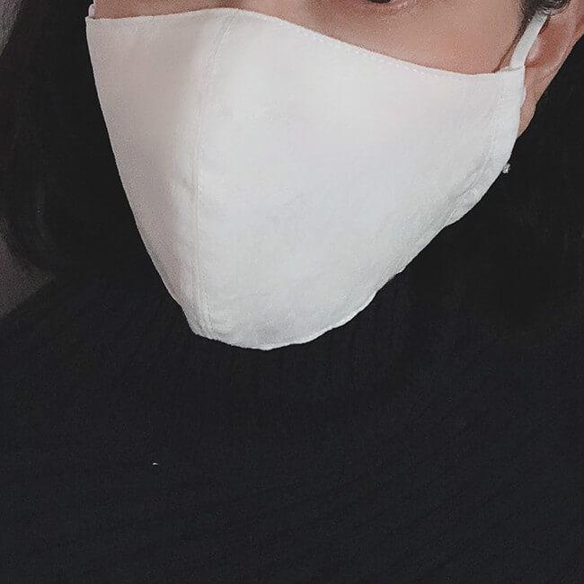 白立体マスク