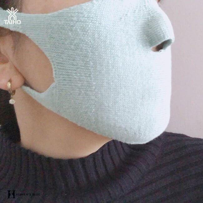 大法 穴あきマスク